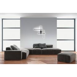 LED Επιτοίχιο Φωτιστικό Μίνιμαλ Αλουμινίου Σε Μαύρο Ματ 36W DIMMABLE - Zambelis Lights
