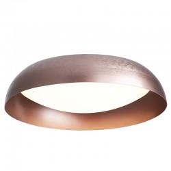 LED Πλαφονιέρα Αλουμινίου Σε Καφέ Χρώμα 50W Φ60cm - Zambelis Lights