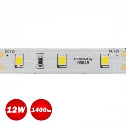 5 Meters Of Led Strip 12W 12V IP20 OSRAM Chip - ACA