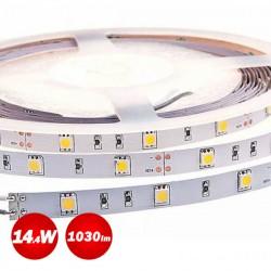 5 Meters of Led Strip 14.4W 12V DC IP33 No Water Resistant  ACA