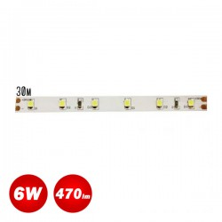 30 Meters Of Stickable LED Strip 6W SMD 24V IP33 ACA