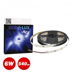 Led Strip JAZZ 48V 6 Watt IP20 SAMSUNG Chip 5m - Maximum operating length 50m - CUBALUX
