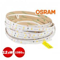 5 Meters Of Led Strip Osram Flex Luminen 12.5W 24V Waterproof IP65 1380 Lumen Cool White 6500K