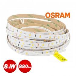 5 Meters Of Led Strip Osram Flex Luminen 8.5W 24V Waterproof IP65 880 Lumen Natural White 4000K
