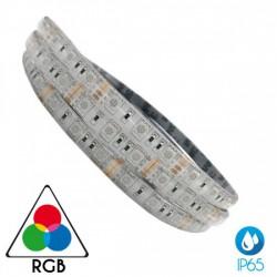 5 Μέτρα Led Ταινία 7.2W SMD 24V Αδιάβροχη IP65 RGB ACA