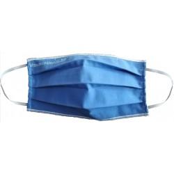 Μάσκα προσώπου πολλαπλών χρήσεων διπλής όψεως βαμβακερή 100% με πιστοποιητικό OEKO-TEX 100 class I