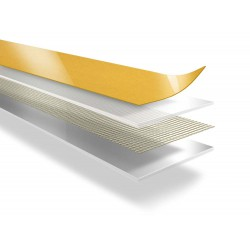 DUPLOCOLL 431 FABRIC tape with Yellow Liner 8mm x 50m - Lohmann