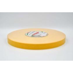 DUPLOCOLL 5015 White foam tape with Yellow Liner 8mm x 50m - Lohmann