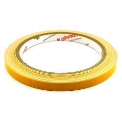 DUPLOCOLL 5015 White foam tape with Yellow Liner 8mm x 5m - Lohmann