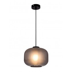 Pendant Light With Smoked or Opal White Glass D35 1x E27 70W Astor - VIOKEF