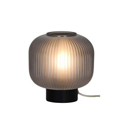 Table Lamp With Smoked or Opal Glass 1x E27 42W Astor - VIOKEF