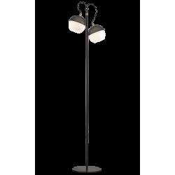 Φωτιστικό Δαπέδου Δίφωτο Διάτρητο Μεταλλικό Με Γυαλί 2x E27 BRODY VIOKEF