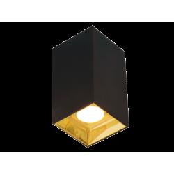 LED Σποτ Οροφής Σε Λευκό ή Μαύρο SQUARE 76x76mm 12W GLAM- Viokef