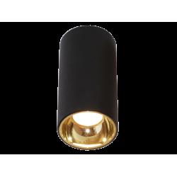 LED Σποτ Οροφής Σε Λευκό ή Μαύρο Round D76mm 12W GLAM - Viokef