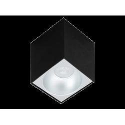 Σποτ Οροφής Σε Λευκό ή Μαύρο 97x97mm 1xGU10 SQUARE JHONNY - Viokef
