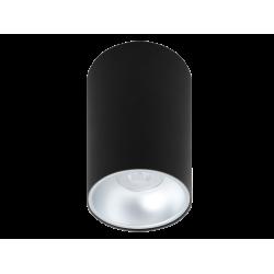 Σποτ Οροφής Σε Λευκό ή Μαύρο D97mm 1xGU10 ROUND JHONNY - Viokef
