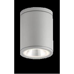 LED Εξωτερικό Φωτιστικό Οροφής Αλουμινίου Σποτ Σε Γκρι και Λευκό, Marocco IP54 LED 5W 400Lm 3000K VIOKEF