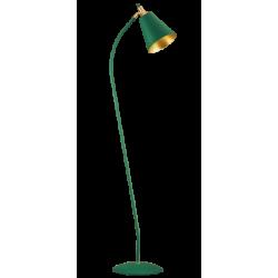 Φωτιστικό Δαπέδου Μεταλλικό Σε Πράσινο ή Μαύρο Χρώμα 1x E27 MENTA VIOKEF