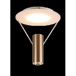LED Πλαφονιέρα Μεταλλική Καφέ 24W RAMON - Viokef