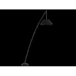 Φωτιστικό Δαπέδου Υποστήλιο Μαύρο 200cm 1x E27 60W max ROD- Viokef