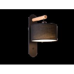 Απλίκα Σε Μαύρο ή Λευκό Χρώμα 1x E14 40W max ROMEO - Viokef