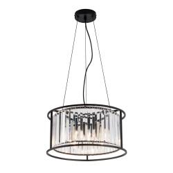Pendant Multi Lights With Transparent Glass 4x E14 40W RONDA  - VIOKEF