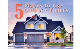 5 Places to Use Outdoor Timers