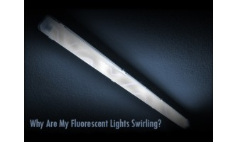 Why Are My Fluorescent Lights Swirling?