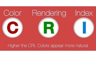 Η σημασία του δείκτη χρωματικής απόδοσης (CRI - ColourRenderingIndex)