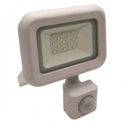 PROJECTOR LED SMD WITH ROTADED MOVEMENT DETECTOR 10W WHITE IP44 PLUS