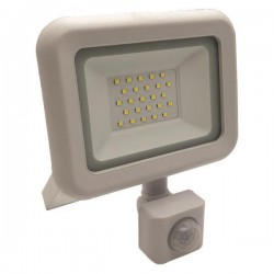 PROJECTOR LED SMD WITH ROTADED MOVEMENT DETECTOR 20W WHITE IP44 PLUS