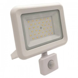 PROJECTOR LED SMD WITH ROTADED MOVEMENT DETECTOR 30W WHITE IP44 PLUS