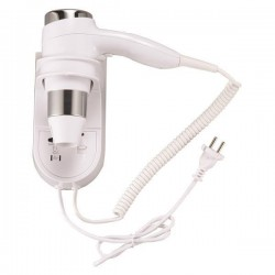 HAIR DRYER FOR HOTELS 1500W 220-240V WITH PLUG