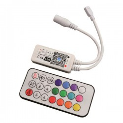 ΑΣΥΡΜΑΤΟ CONTROLLER RF Wifi RF RGBW 12A DC 12V/120W 24V/240W(MAX)