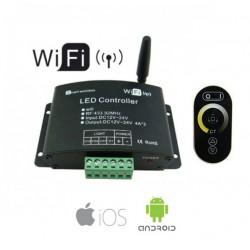 Wi-Fi Controller Με Επιπλέον Τηλεχειριστήριο Αφής RF Για Μονόχρωμες LED Ταινίες ACA
