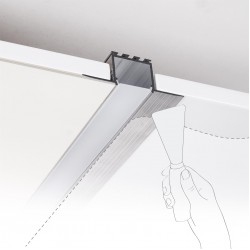 Recessed LED Linear In Different Sizes Model LATE With Tridonic Board 185 Lumens/Watt