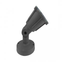 LED SMD Φωτιστικό Κήπου Γκρι IP54 230V ACA