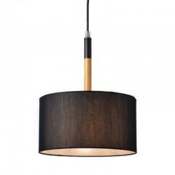 Μεταλλικό Κρεμαστό Φωτιστικό Με Υφασμάτινο Καπέλο Και Ανάρτηση Σε Διάφορα Χρώματα Ø250 1xE27 ACA