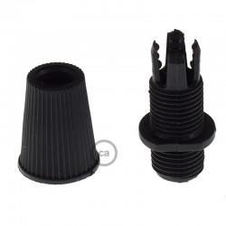 Black Cable Clamp For Canopies Creative Cables