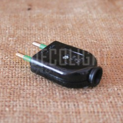 Bipolar Connector Black 10A IMQ Made in Italy Decolight