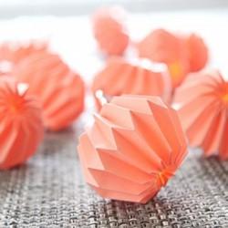 Διακοσμητικά Φωτάκια Origami LED 10τμχ Ροζ Λουλούδια Με Μπαταρία Θερμό Φως Decolight