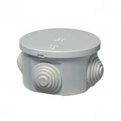 Κουτί Διακλάδωσης Με Στυπιοθλίπτες IP44 Φ63x35 400C1 Elettrocanali