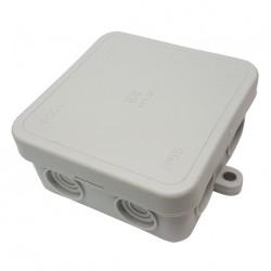 Κουτί Διακλάδωσης Με Στυπιοθλίπτες IP55 65x65x30 411C2 Elettrocanali