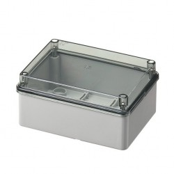 Shaft Box Without Seals With Transparent Lid IP56 190x150x70 420C6 Elettrocanali