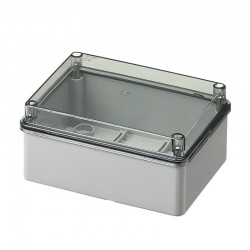 Shaft Box Without Seals With Transparent Lid IP56 150x110x70 420C5 Elettrocanali