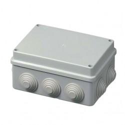 Κουτί Διακλάδωσης Με Στυπιοθλίπτες IP55 240x190x90 400C7 Elettrocanali