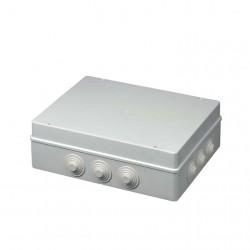 Κουτί Διακλάδωσης Με Στυπιοθλίπτες Ασφαλίζει με κλειδί  IP55 300x220x120 400C8 Elettrocanali