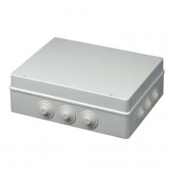 Κουτί Διακλάδωσης Με Στυπιοθλίπτες Ασφαλίζει με κλειδί  IP55 380x300x120 400C9 Elettrocanali