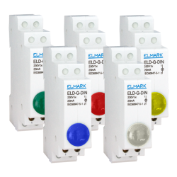 ELD-G-DIN LAMP 230 In Multiple Colors Elmark