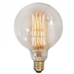 Διακοσμητική Λάμπα Globe G125 EDISON E27 230V 40W Dimmable Eurolamp